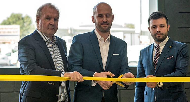 Lotus Cars service center inauguration