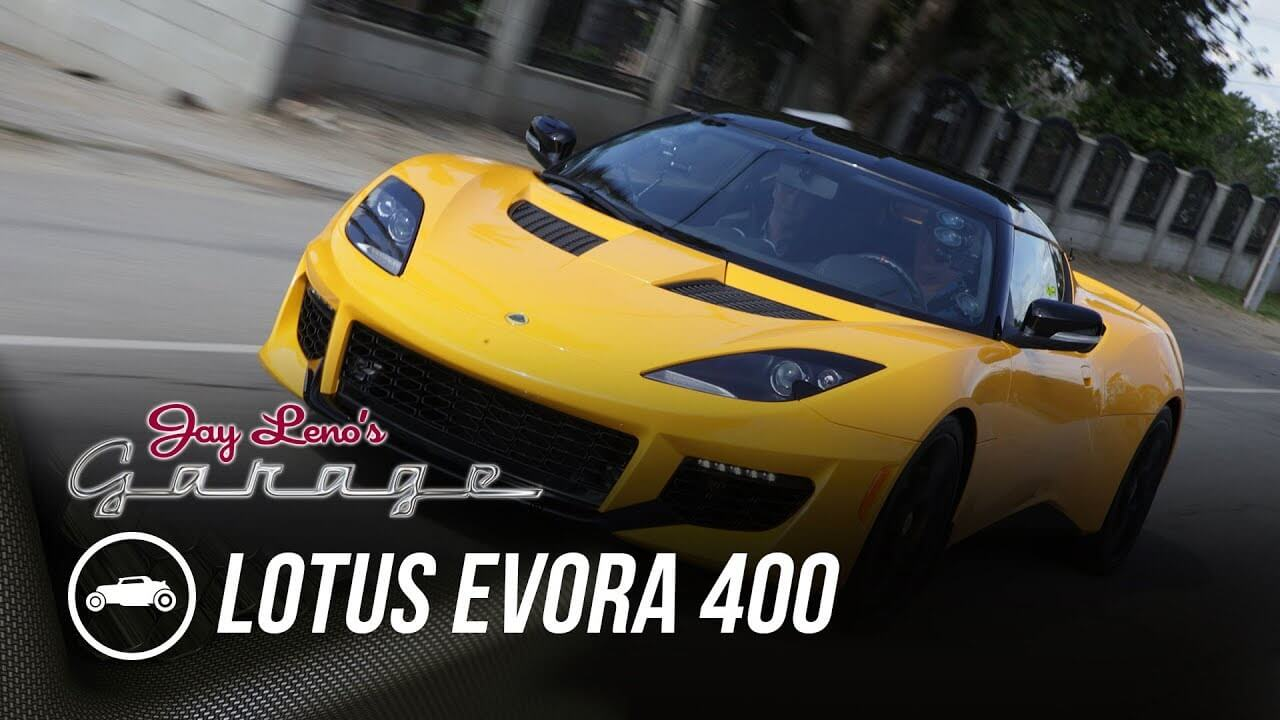 Great episode of Jay Leno's Garage featuring Evora 400